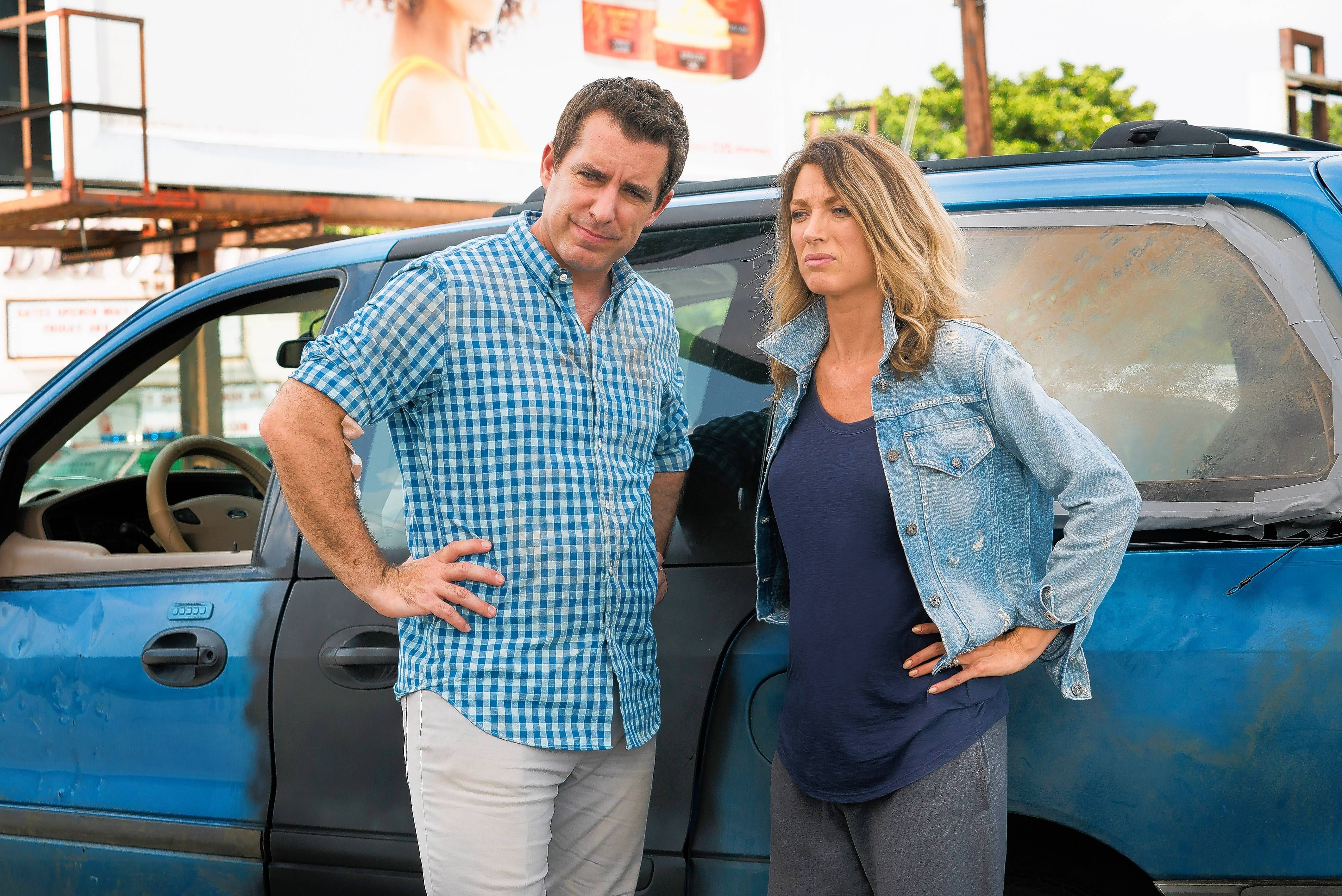 5278d954940 Nate and Robin Parker (Jason Jones and Natalie Zea) encounter all sorts of  trouble on their family road trip in