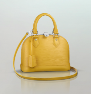 LV Alma in Citron
