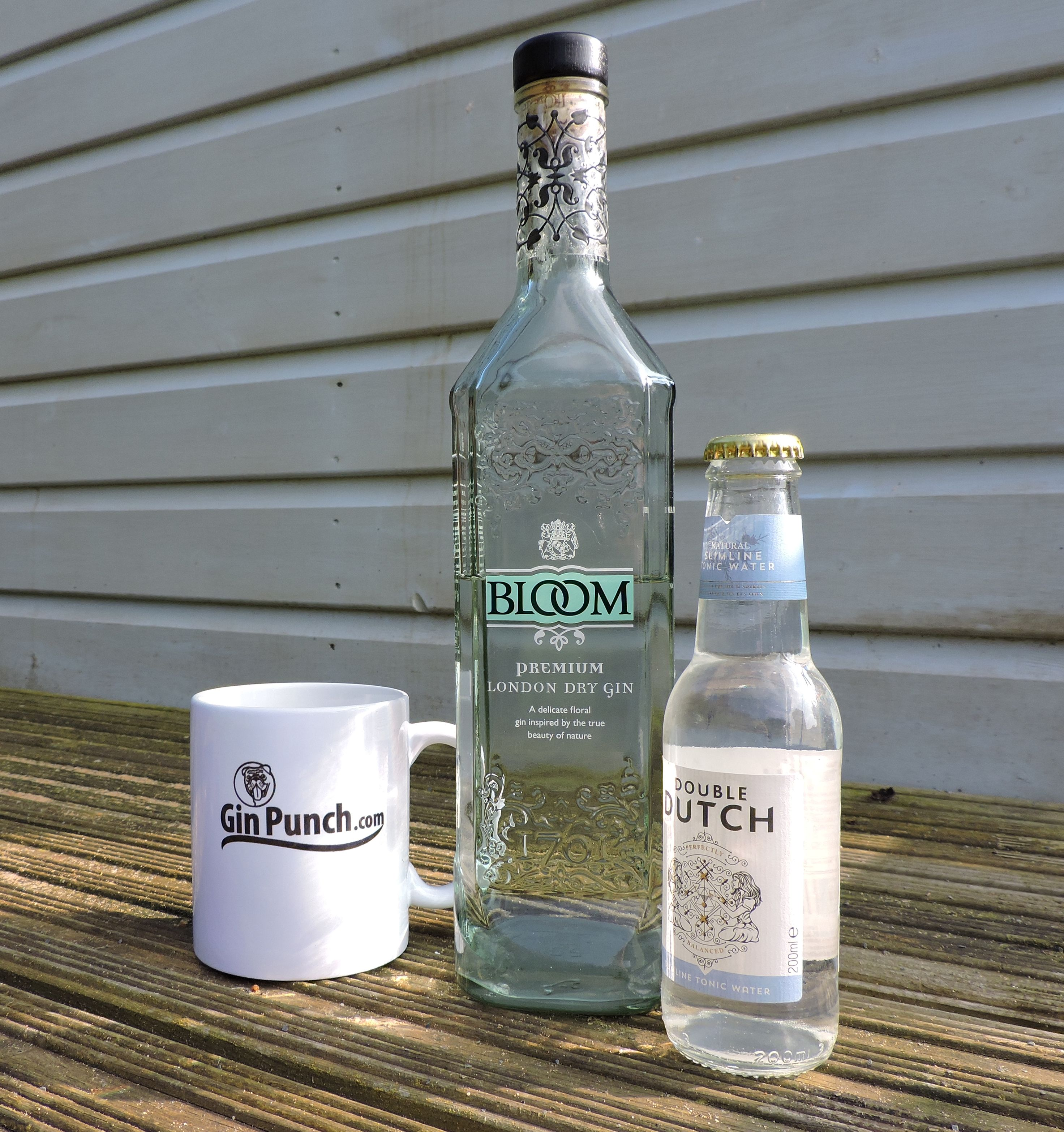 Bloom London Dry Gin with Double Dutch Tonic Water