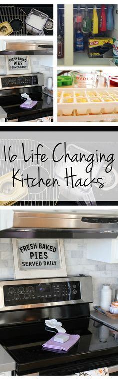 16 Life Changing Kitchen Cleaning Hacks Cleaning Hacks