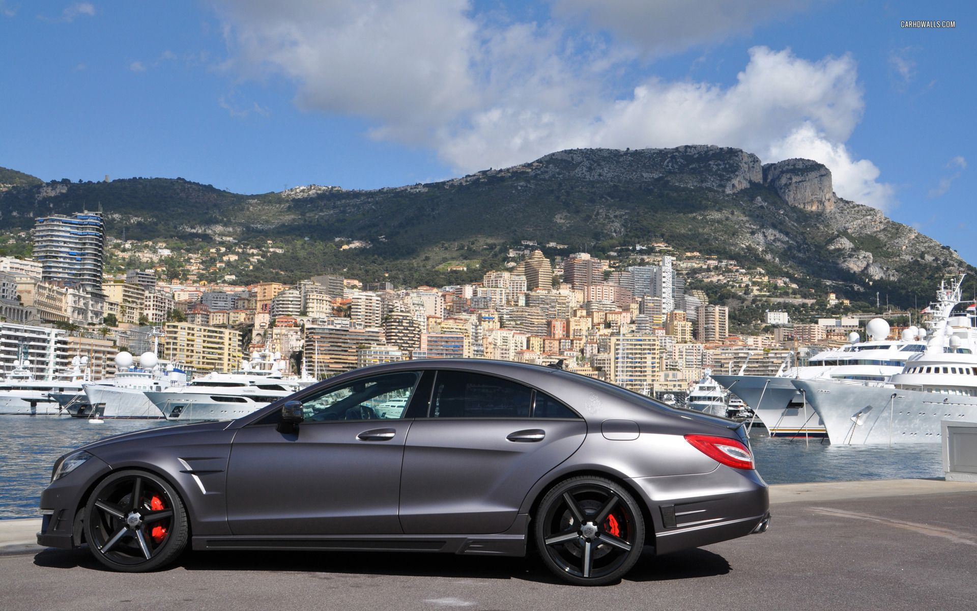German Special Customs Mercedes Benz Cl Class Cls63 Amg 2012 With