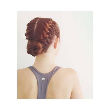Coiffure chignon pour le sport Chignon coiffure en