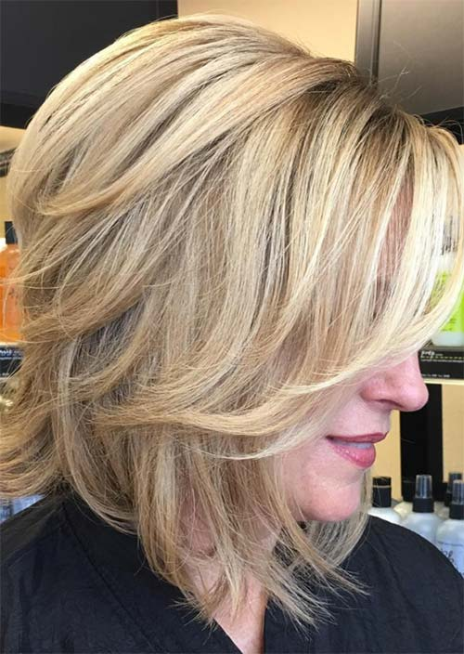 14 Latest Youthful Hairstyles For Over 50 Women 2020 Blonde Hair Over 50 Haircuts For Medium Hair Older Women Hairstyles