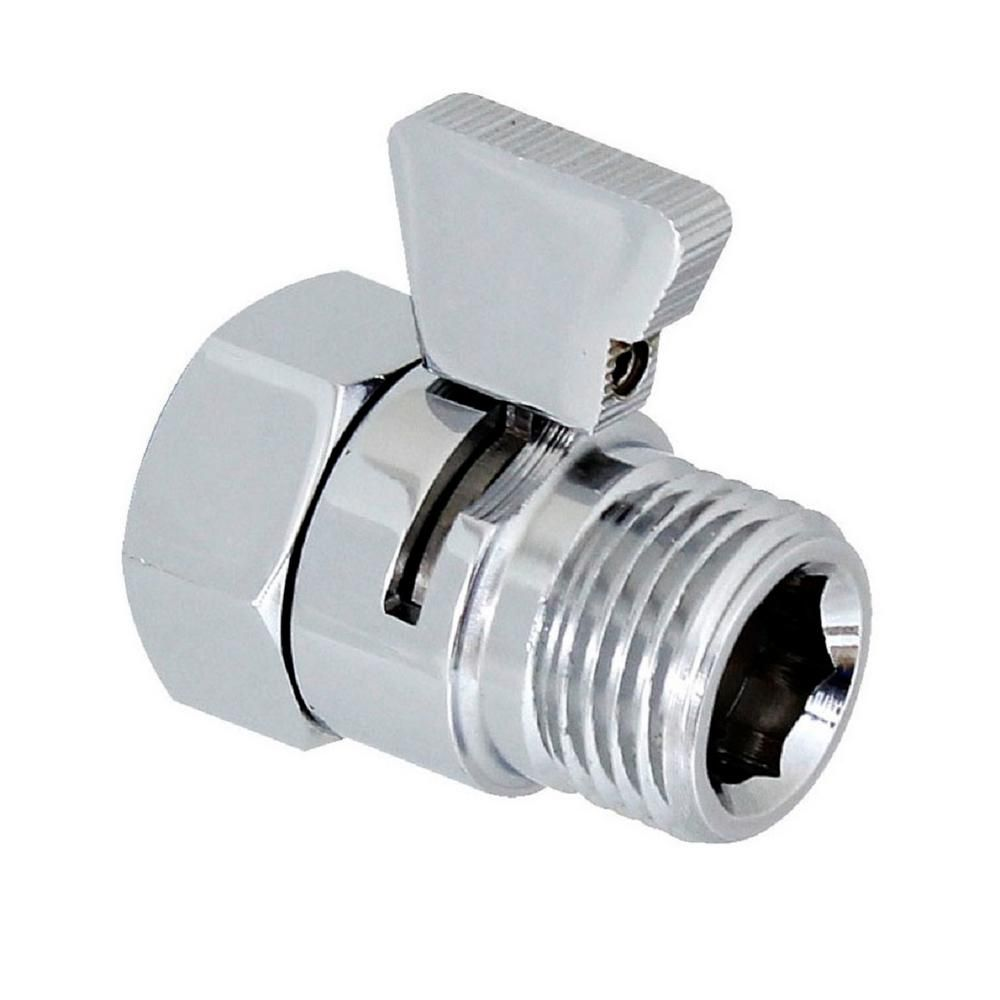 Modona Water Saver Volume Flow Control And Shut Off Valve For