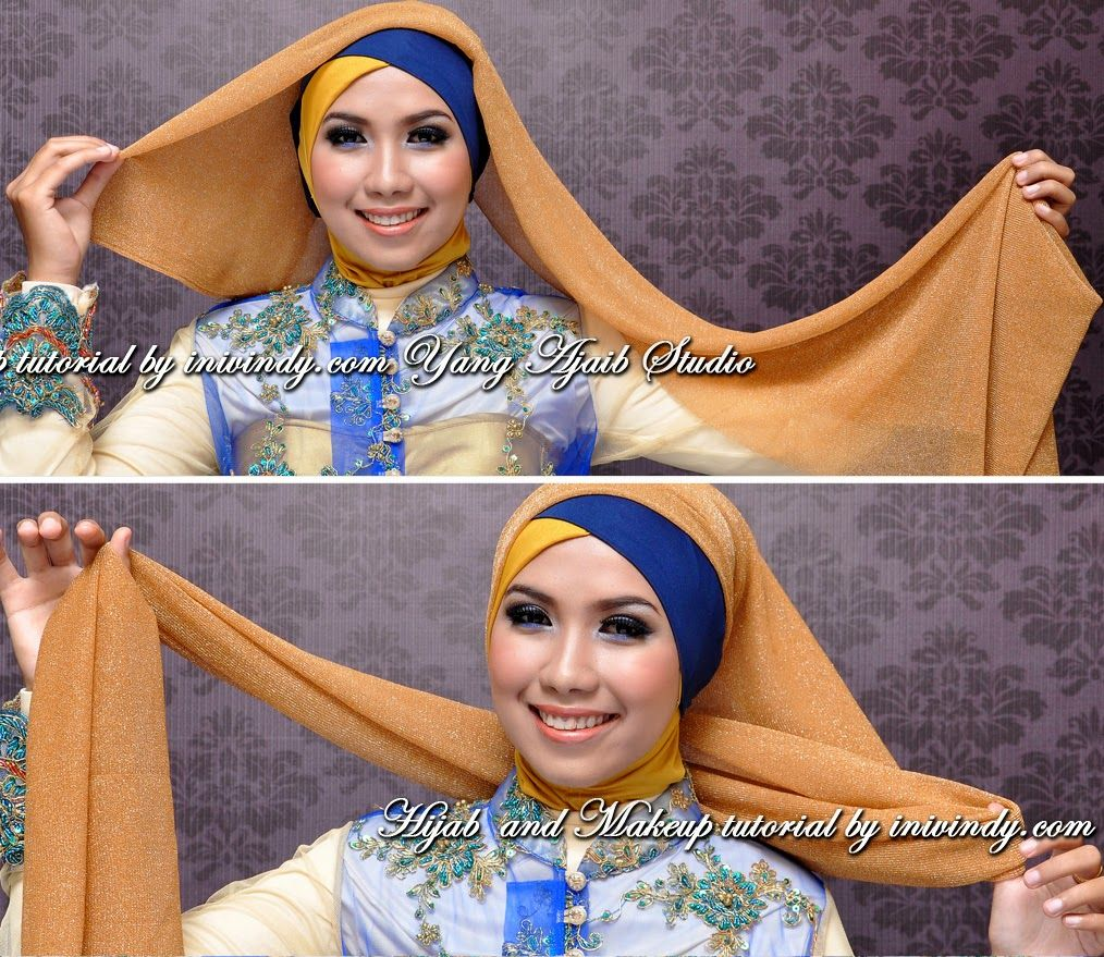 Step By Step Aka Tutorial Hijab Dan Make Up Wisuda Places To