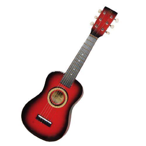 Como Children 23 Long Wooden Acoustic Guitar Toy String Instrument