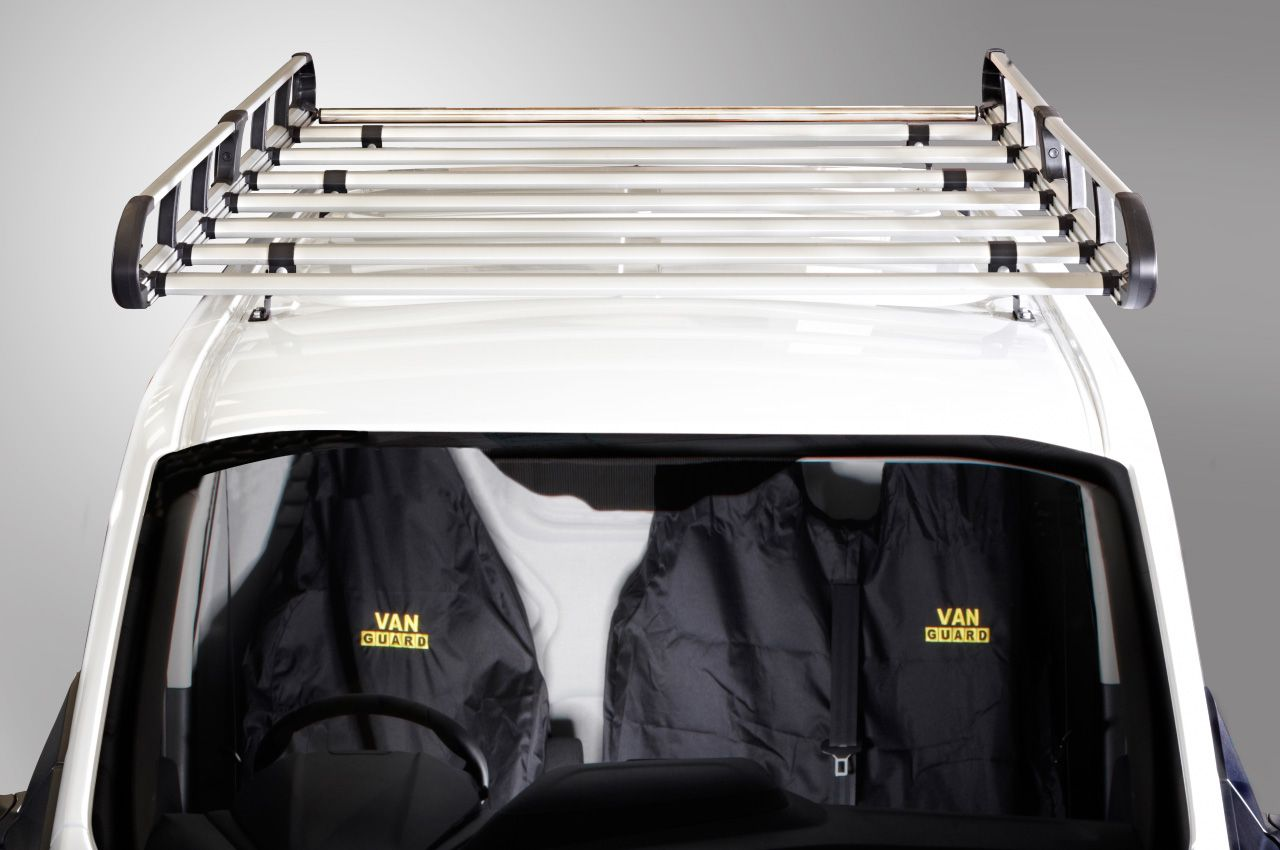 Pin By Van Guard Accessories Ltd On Ultimate Van Roof Rack Van Roof Racks Roof Rack Baby Car Seats