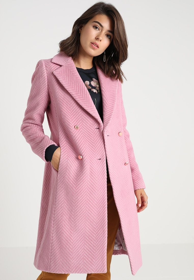 a8fafb876b72 SAFFRA MIDI COAT - Wollmantel/klassischer Mantel - light pink ...