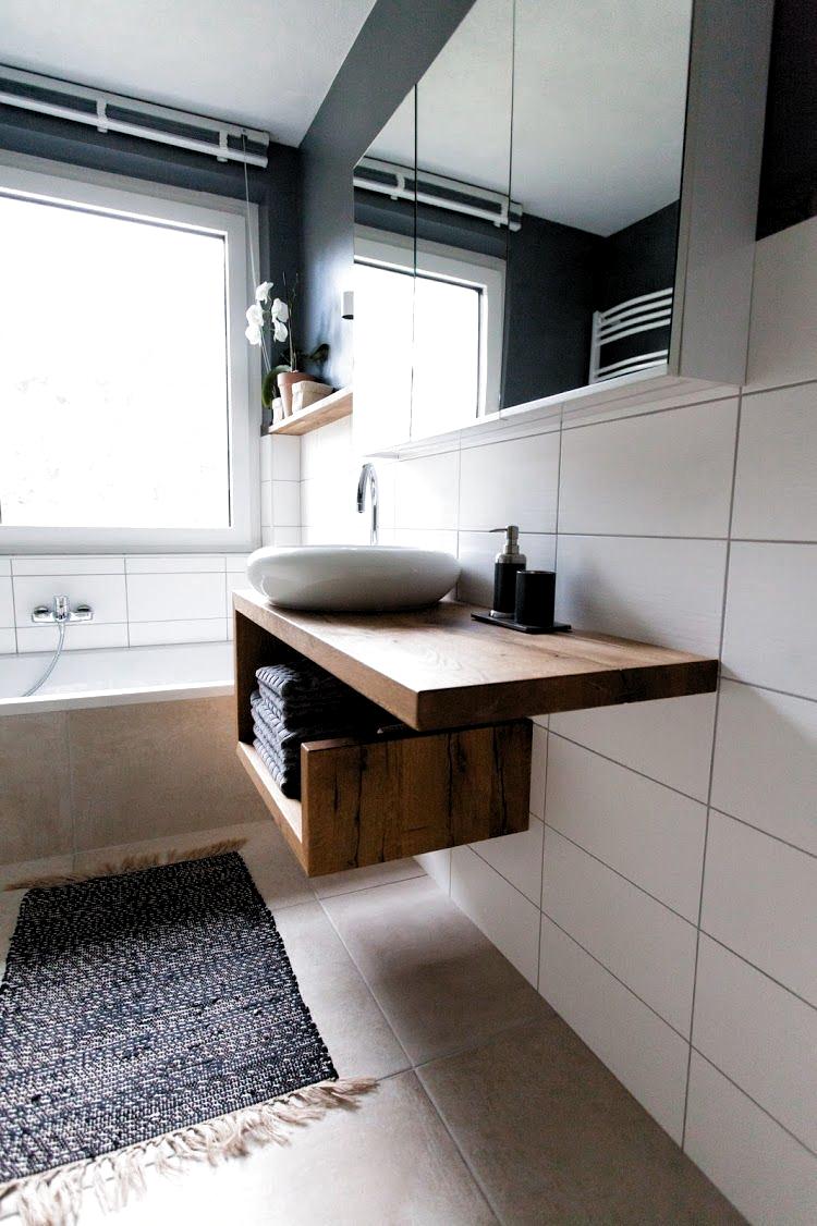 Vorher Nachher Ein Neues Badezimmer Unter 5000 Euro Wohn Projekt Badezimme Badezi In 2020 Neues Badezimmer Wohnung Einrichten Badezimmer