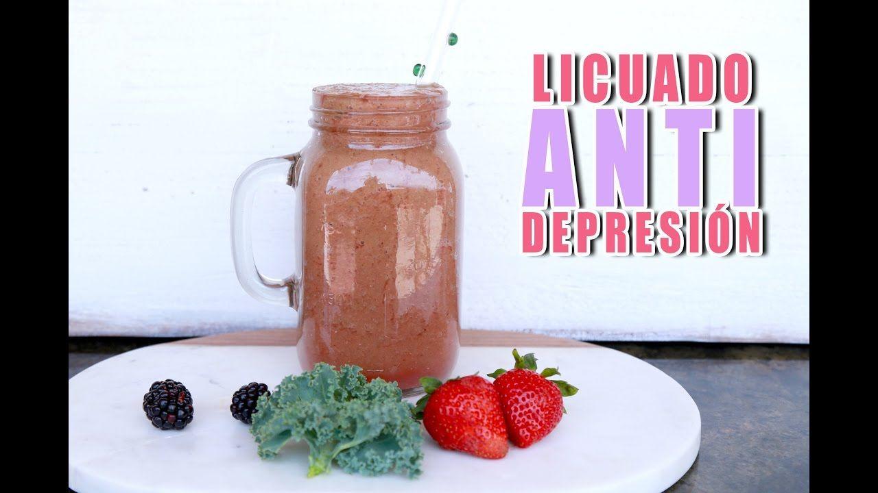 Licuado para Eliminar la Depresión y Aumentar la Felicidad!