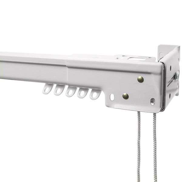Bali Center Open Heavy Duty Traverse Curtain Rod Collection Jcpenney