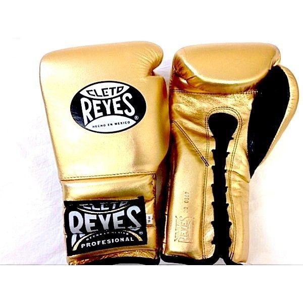 d3e4662021d Cleto Reyes Lace Spar Boxing Gloves - Gold http   www.geezersboxing.