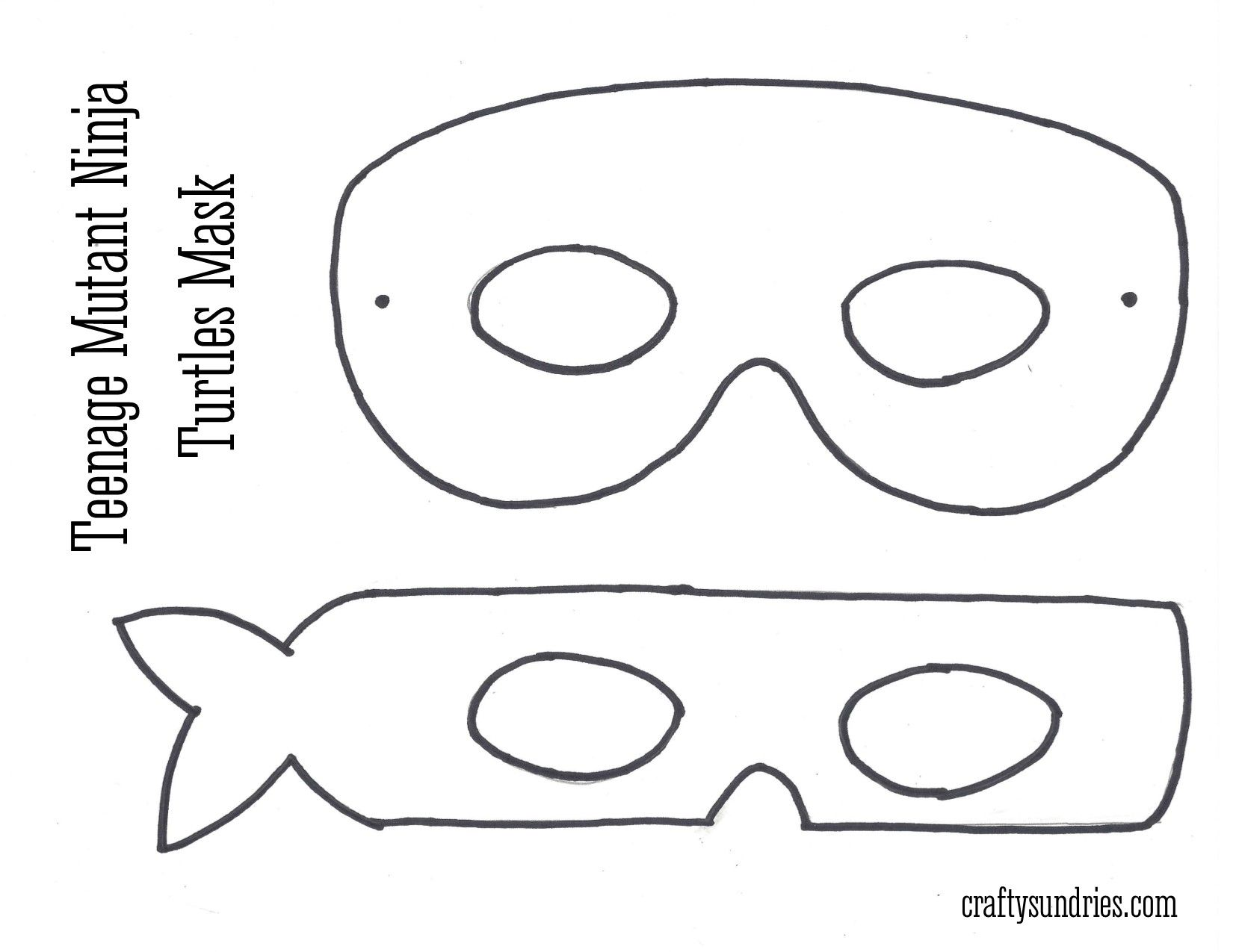 image regarding Ninja Turtle Mask Printable referred to as TMNT mask  Exertion - Teenage Mutant Ninja Turtle Ninja