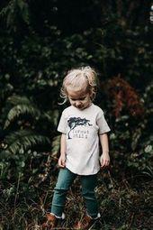 Wald Kind T-Shirt Kinder Mode Mädchen Kleinkind Herbst Kinder …- ad_1]Wald Kind …