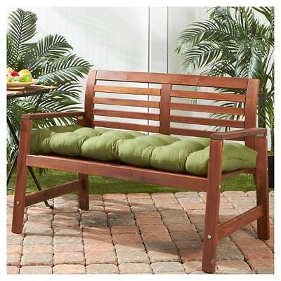 Solid Outdoor Bench Cushion Hunter Kensington Garden Porch Swing Outdoor Porch Patio Seat Cushions