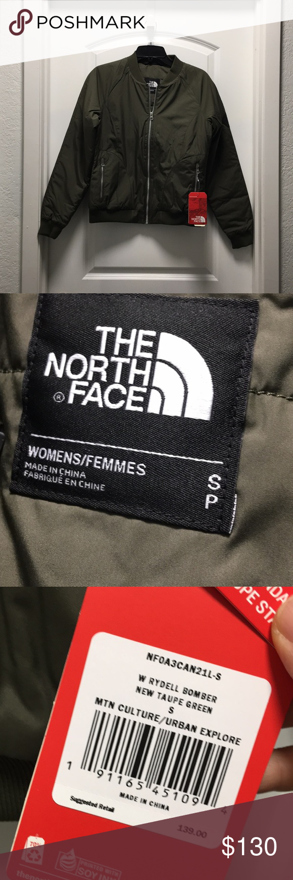 a920925cb THE NORTH FACE women's Rydell bomber jacket, NWT My favorite bomber ...