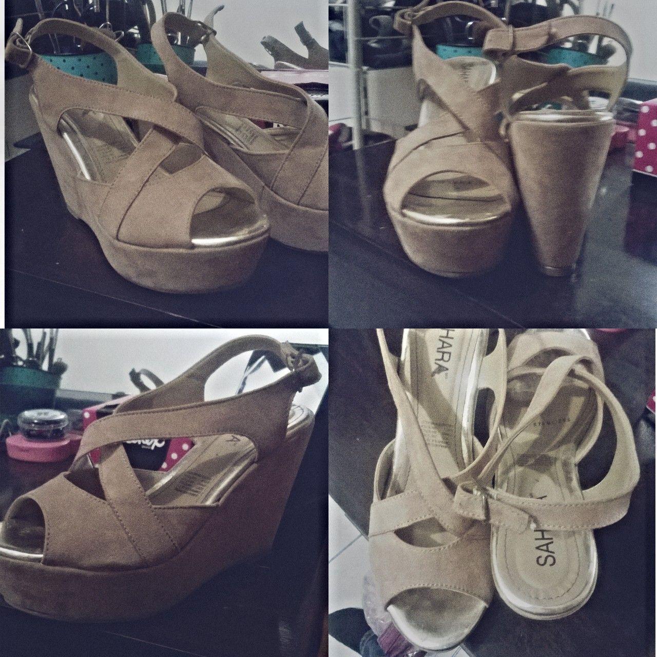 Zapatillas beige