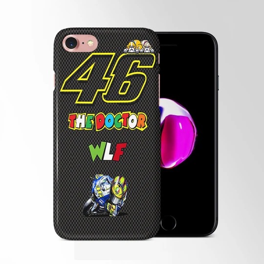 Vr Valentino Rossi 46 The Doctor Wallpaper Iphone 8 Case