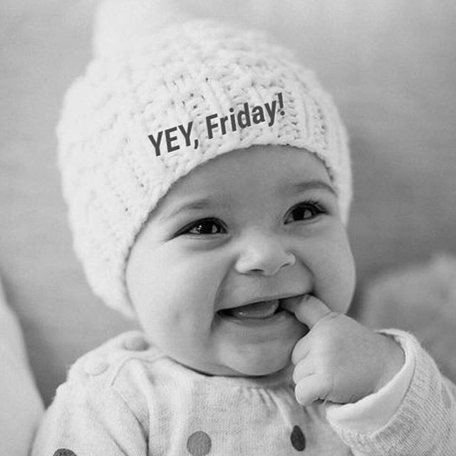 This is our face on Fridays  Wishing everyone an amazing day! #bluumfamily #bluum #friday #baby #happy
