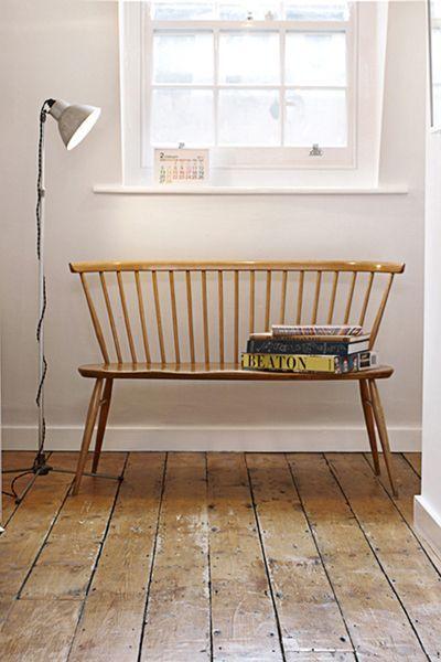 un banc dans l 39 entr e d coration habitat mobilier de. Black Bedroom Furniture Sets. Home Design Ideas