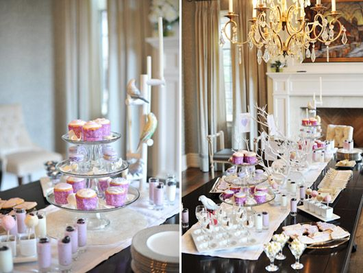 Rehearsal / Engagement Dinner Dessert Table (With images ... |Engagement Party Dessert Recipes