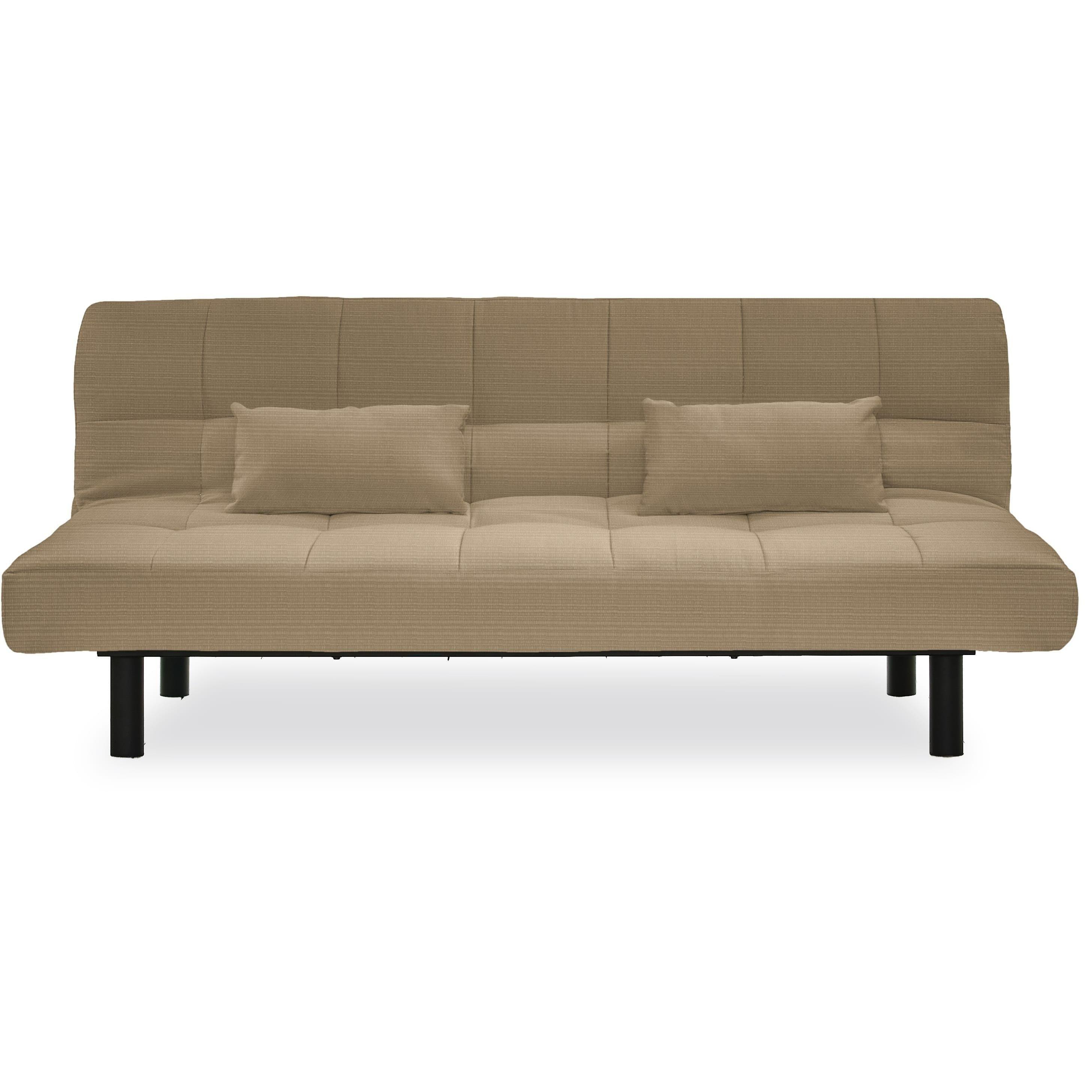 Serta Santa Cruz Brown Pool And Deck Convertible Sofa By Lifestyle Solutions Sand
