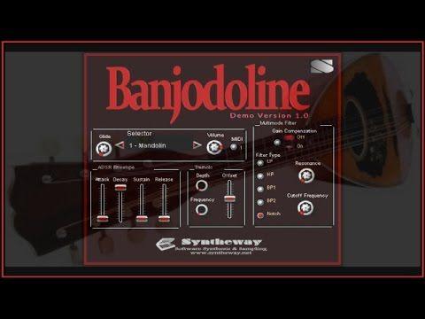 awesome syntheway banjodoline virtual banjo mandolin vsti octave mandolin banjolin electric. Black Bedroom Furniture Sets. Home Design Ideas