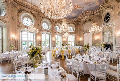 Elegant Castle Wedding In Vienna Austria Hochzeit Schloss Heiraten Im Schloss Marchenhochzeit