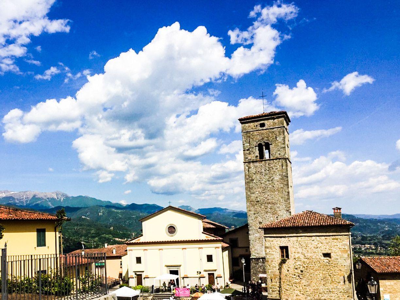 Village of Cascio in the Garfagnana region