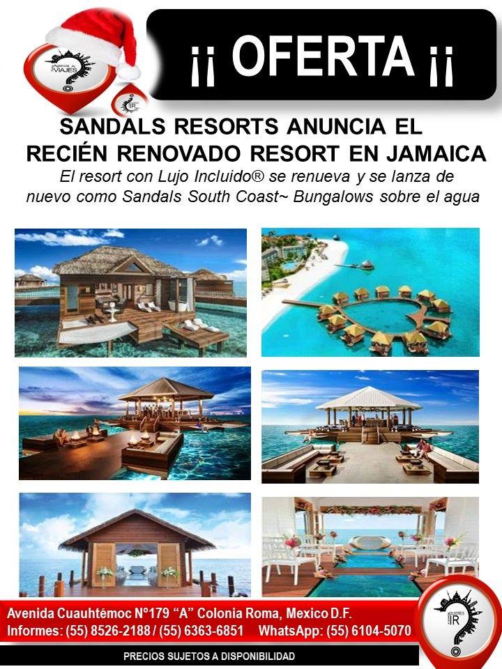 SANDALS RESORTS ANUNCIA EL RECIÉN RENOVADO RESORT EN JAMAICA El resort con Lujo Incluido® se renueva y se lanza de nuevo como Sandals South Coast~ Bungalows sobre el agua  MONTEGO BAY, Jamaica – Sandals Resorts anuncia el relanzamiento de su galardonado resort en Jamaica, Sandals South Coast. Conocido anteriormente como Sandals Whitehouse European Village & Spa, el resort con Lujo Incluido® ha sido totalmente reconcebido y devela nuevas mejoras que adoptan e incorporan la belleza natural y…