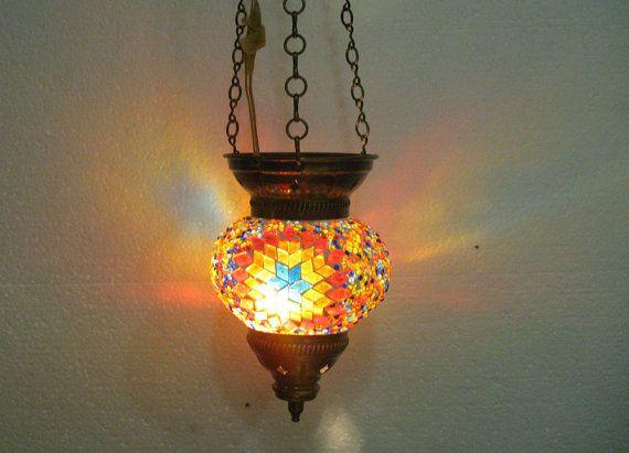moroccan lantern glass lamp turkish lamp starmaster by meryemart