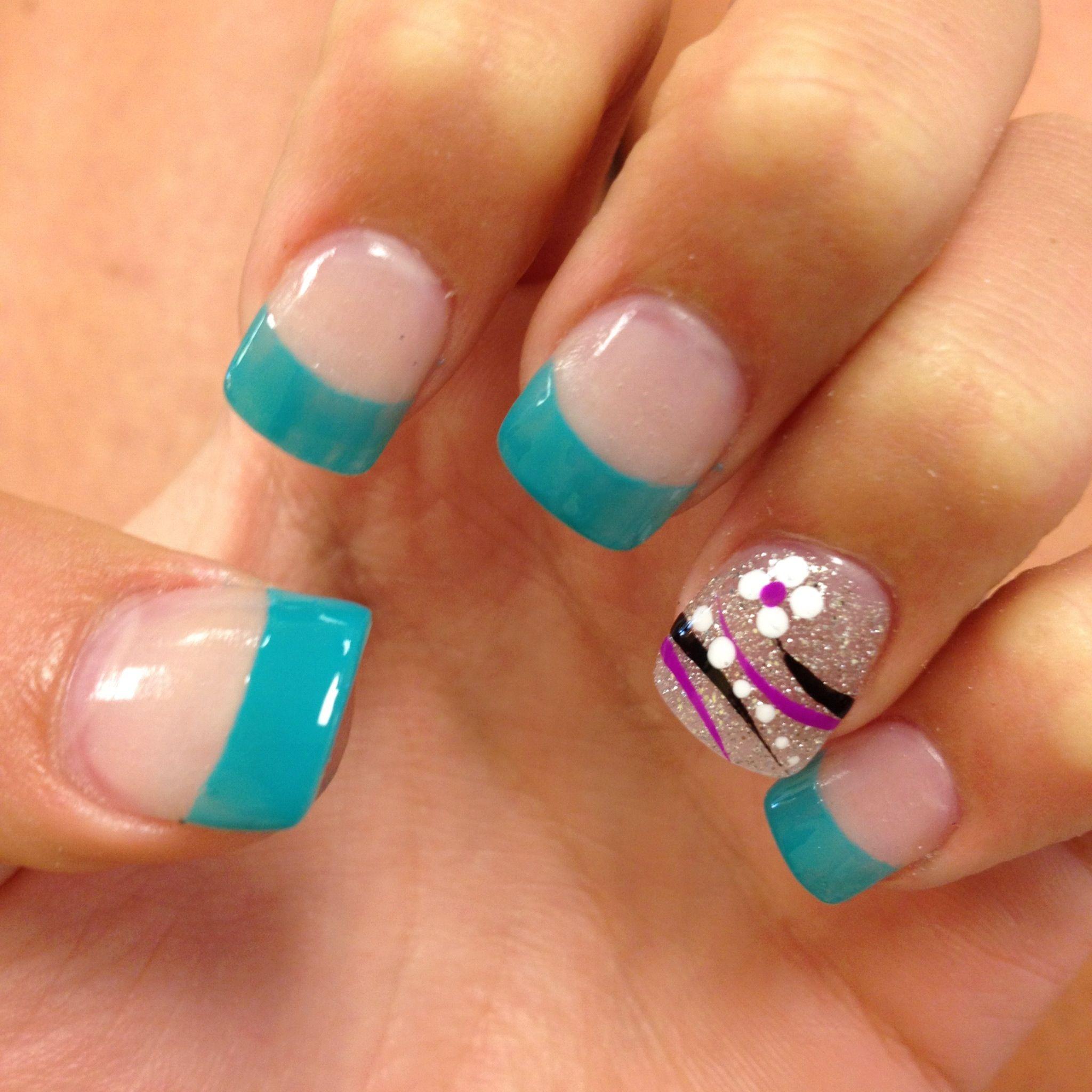 Fun nails! | Fun nails, Nail art, Nails