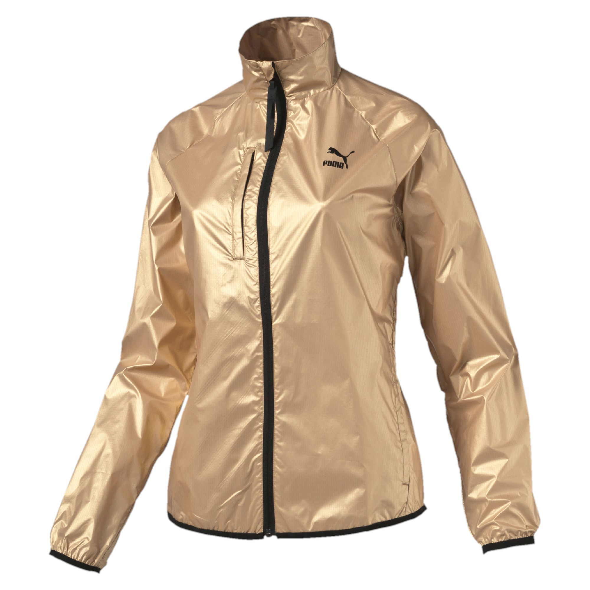 Evolution Gold Windrunner Jacket