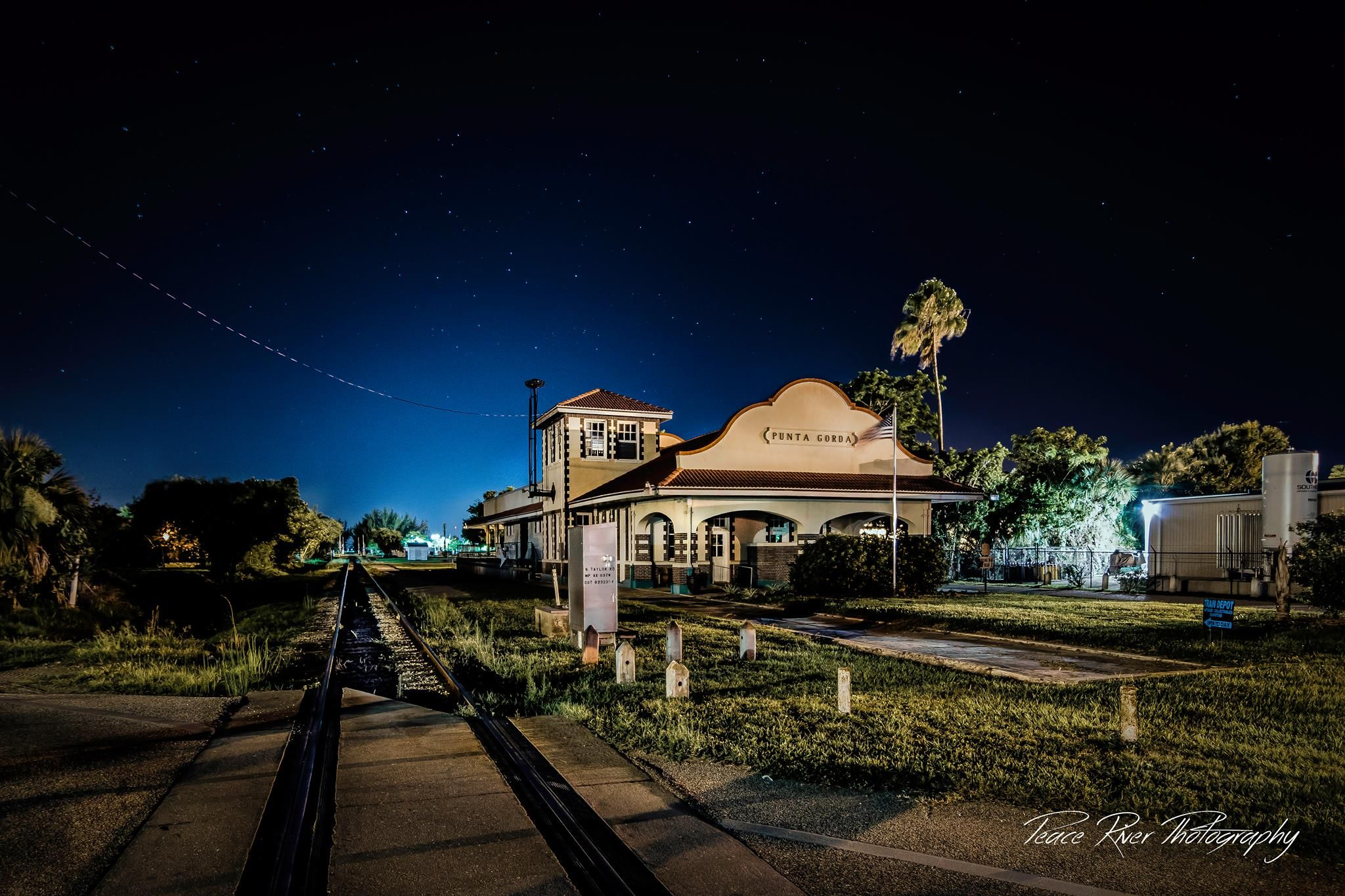 The Historic Punta Gorda Train Depot Built In 1928 Is The Sole