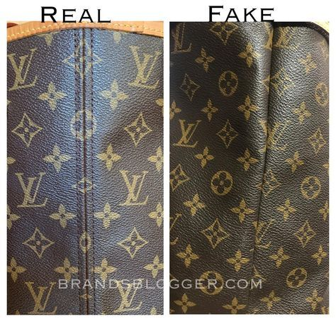 How To Spot A Fake Louis Vuitton Neverfull Bag - B