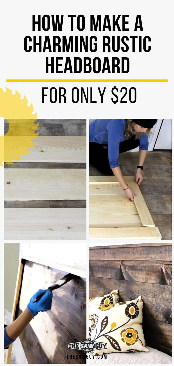 Get Top DIY Headboard from thesawguy.com