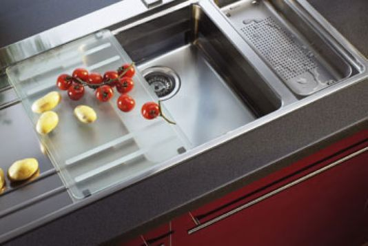 Clever Kitchen Sinks | Double bowl sink, Bowl sink and Sinks