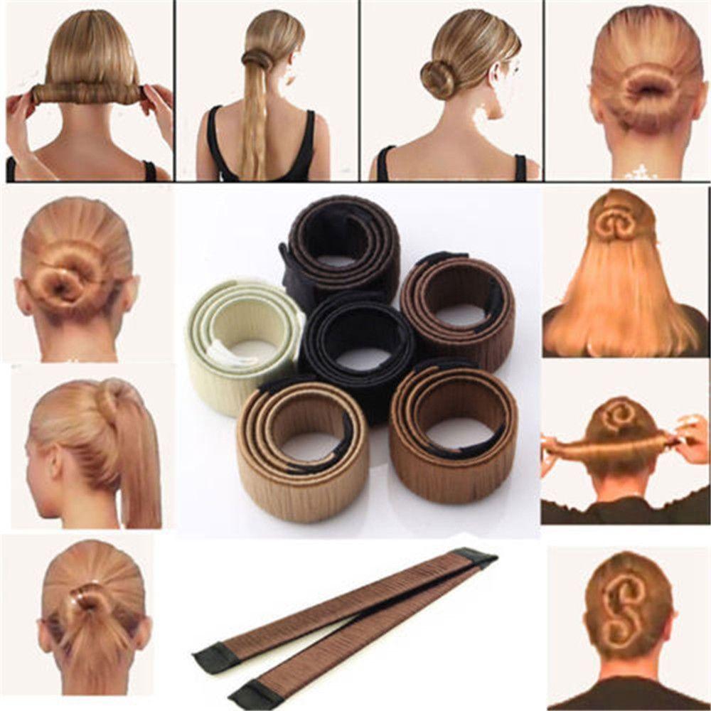 Shopsena Instant Hair Bun Unbranded Hair Bun Maker Hair Twist Bun Hair Donut