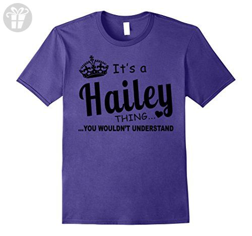Mens Hailey You Wouldn't Understand Birthday T-Shirt Large Purple - Birthday shirts (*Amazon Partner-Link)