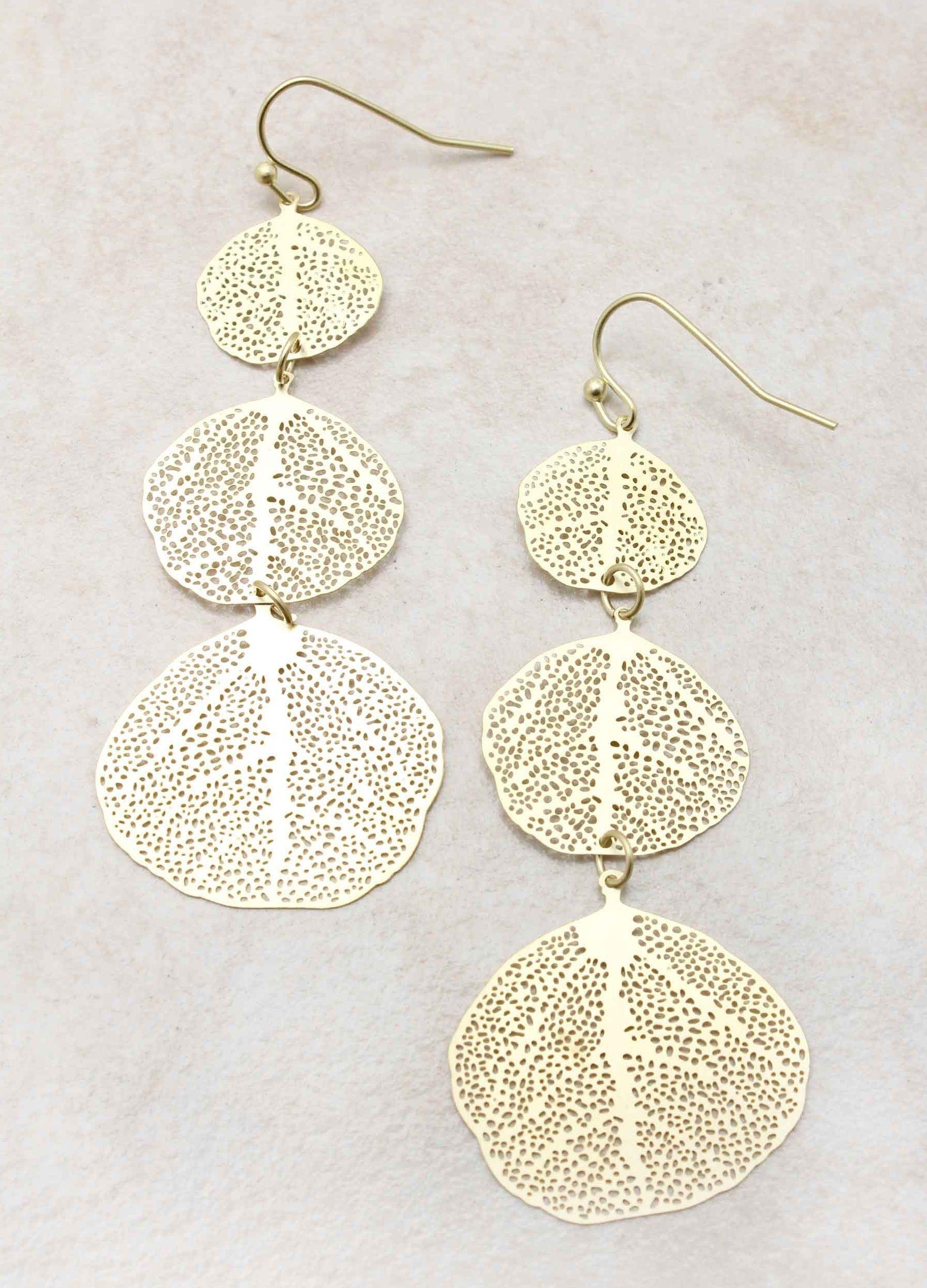 Leaves of Grass Earrings