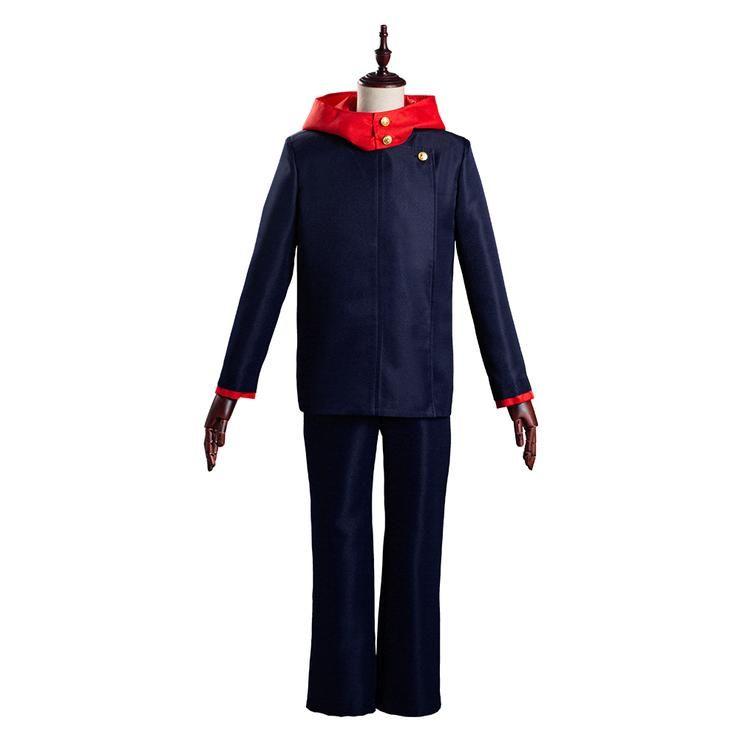 Jujutsu Kaisen Yuji Itadori School Uniform Outfits Halloween Carnival Suit Cosplay Costume School Uniform Outfits Cosplay Costumes Outfits