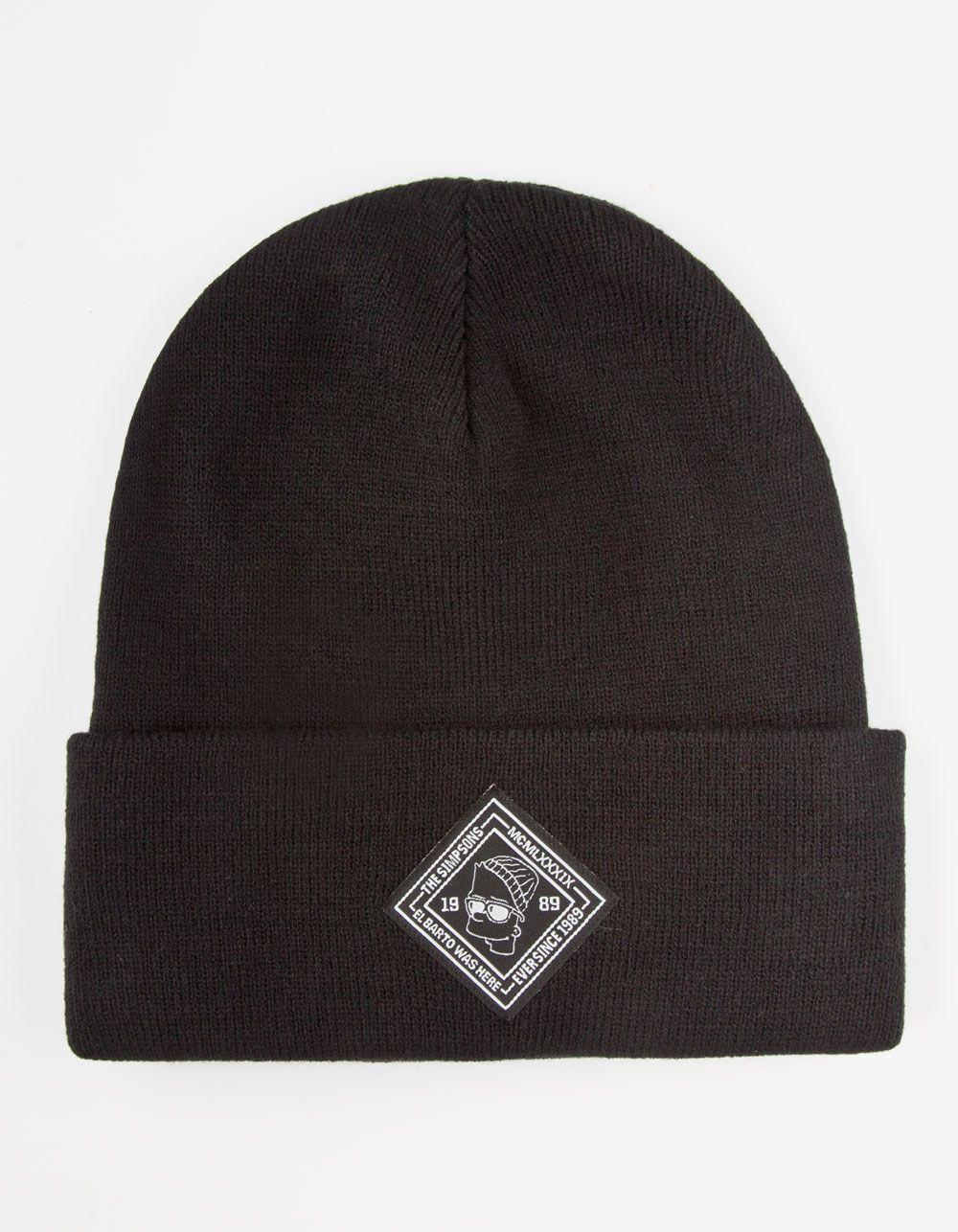 0fed4839d8e22 Neff x The Simpsons Troublemaker beanie. El Barto patch on front. Small NEFF  tag on back. Imported.