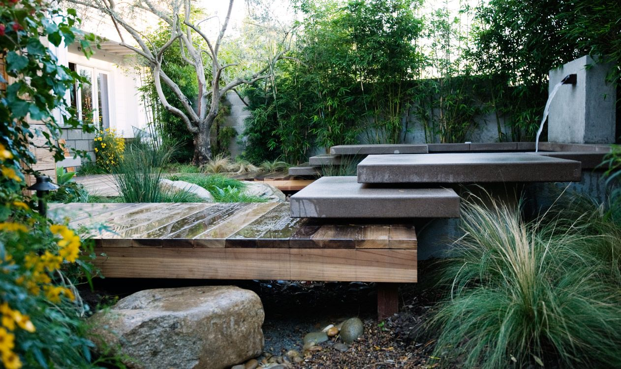 San Diego Landscape Design Cardiff by Falling Waters Inc ...
