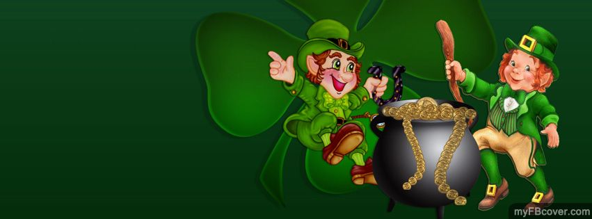 Saint Patricks Day Cover Myfbcover Com St Patricks Day Pictures Leprechaun Pictures Shamrock Pictures