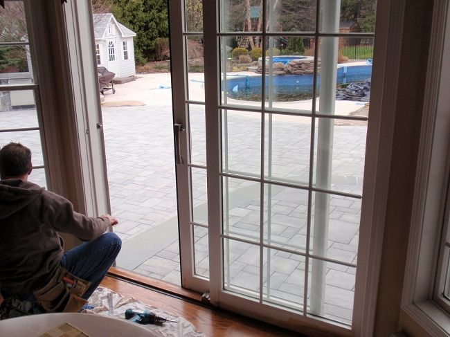 How To Fix A Sliding Glass Door Designs Plans