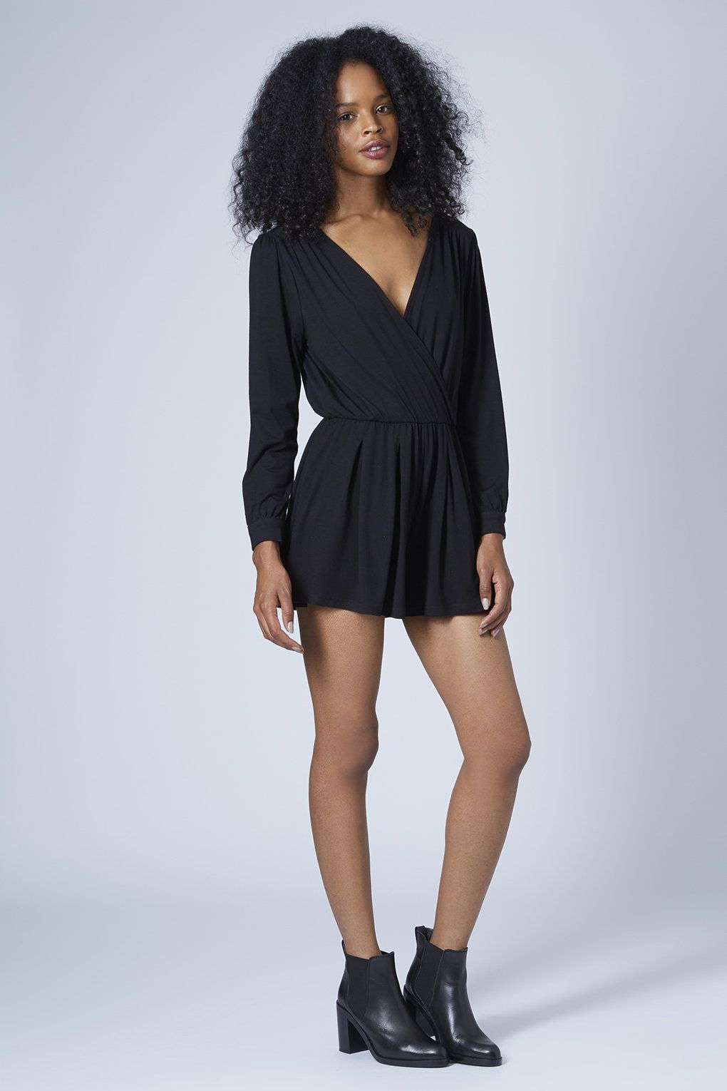 Photo 4 of Long Sleeve Wrap Playsuit