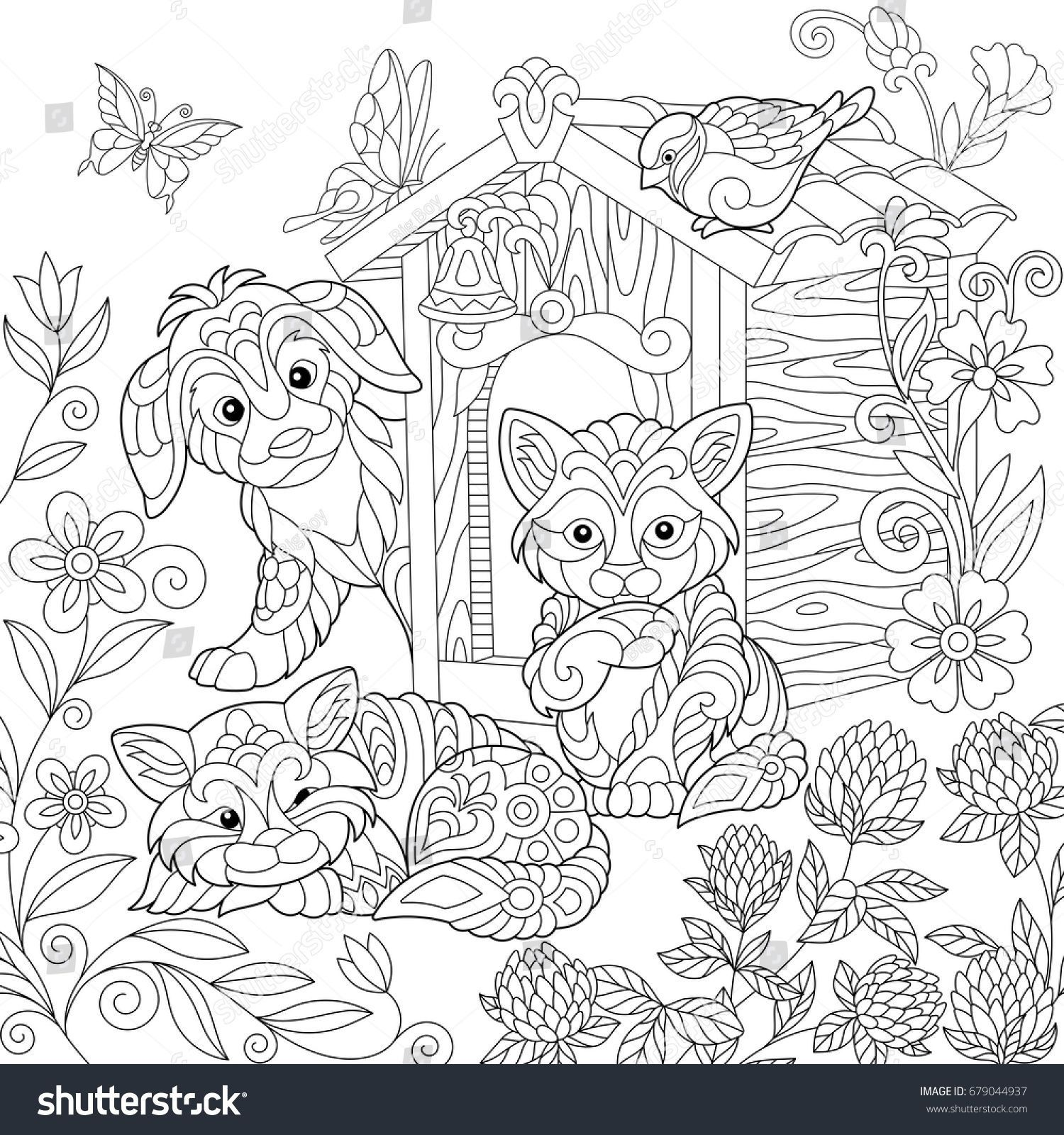 25 Coloring Pages for Couples | Coloring Pages | Dog ...