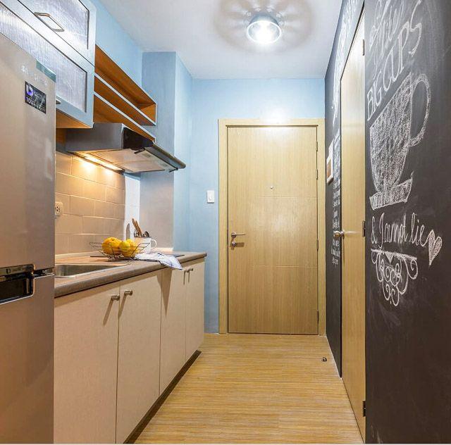 Condo Kitchen Remodel Interior: A 28sqm Condo Unit In Taguig With Fun, Industrial Touches