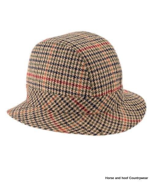 7195cafaa211c6 Heather Hats Chapple Tweed Drop Brim Trilby Classic men s dropbrim trilby  shape with a bonded satin lining Available in assorted wool mix houndstooth