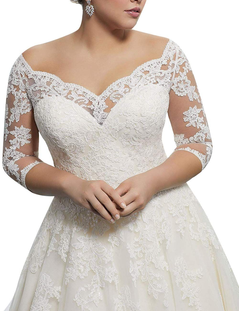 Https Images Na Ssl Images Amazon Com Images I 719azuznfxl Jpg Short Wedding Dress Bridal Ball Gown Plus Wedding Dresses [ 1300 x 1000 Pixel ]